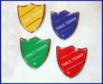 TABLE TENNIS - SHIELD Lapel Badge
